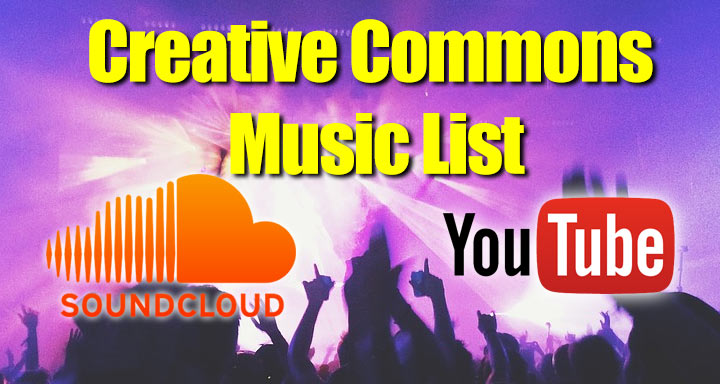 Creative Commons Music List