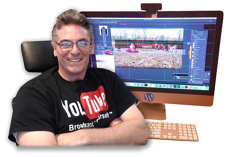 Scott Fichter at His Desk